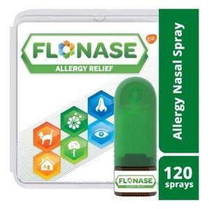 Flonase 处方强度 24小时 过敏鼻喷剂, 120喷
