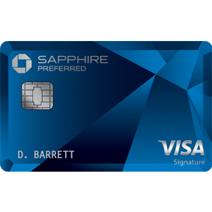 60,000 bonus pointsChase Sapphire Preferred® Card