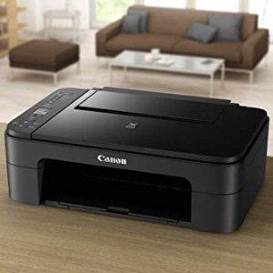 $54.99(原价$87.45)限今天:Canon TS3127 佳能无线彩色照片打印、扫描、复印机