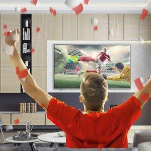 低至75折,£299起,高清看好球Argos  精选 4K 电视世界杯促销