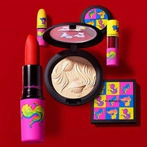 $23起MAC Cosmetics 新年限定开售 朋克锦鲤酷崽必备