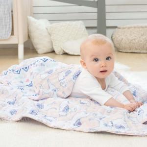 低至6折 纱布睡袋$13.97aden + anais 经典纱布巾、纱布毯、睡袋等婴儿幼儿用品优惠