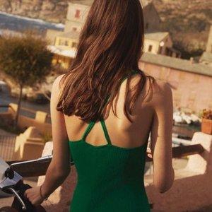 低至4折 封面小绿裙$163Sandro 法式仙女装特卖 Kate王妃也爱穿