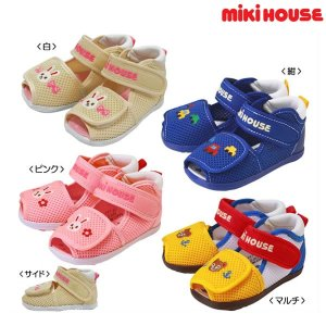 MIKI HOUSE儿童凉鞋