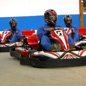 $25.49 for Two 20-Lap Go-Kart Races at Grand Prix Raceway in Lakewood (Up to $44 Value)