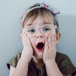 正价7折 $14收儿童眼镜Eyebuydirect 儿童眼镜 亲肤材质舒适轻巧结构 保护孩子眼睛