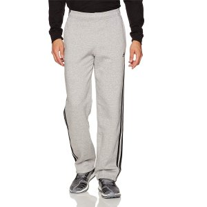 From $12.61adidas Men's Essentials 3 Stripe Regular Fit Fleece Pants @ Amazon.com