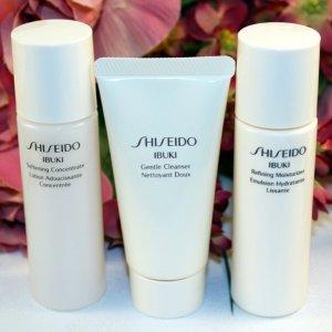 7-pc Skincare Bonus of Your ChoiceWith $75 Ibuki Collection Purchase @ Shiseido