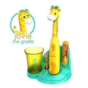 $19.99(原价$49.99)Brusheez 超Q动物造型儿童电动牙刷套装,让宝宝爱上刷牙