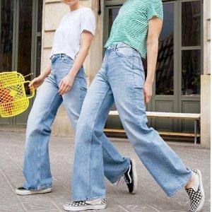 两条7折!£28收优衣库U系列同款神裤Monki 全线牛仔裤折扣热卖 显瘦又好穿!