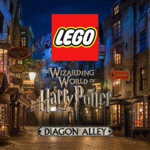 $599.9 绝对重磅补货:LEGO官网 哈利波特系列 全新 对角巷 75978,长达1米多