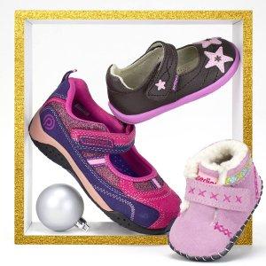 全场低至5折+额外7折 $13.99起即将截止:pediped OUTLET童鞋促销,多次获奖 无数妈妈推荐 名人最爱品牌