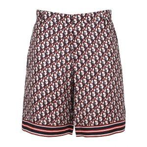 Dior Homme老花短裤