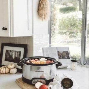 额外8.5折 好评电动打蛋器$21最后一天:Hamilton Beach 小家电促销 收早餐机 $22收电饭锅