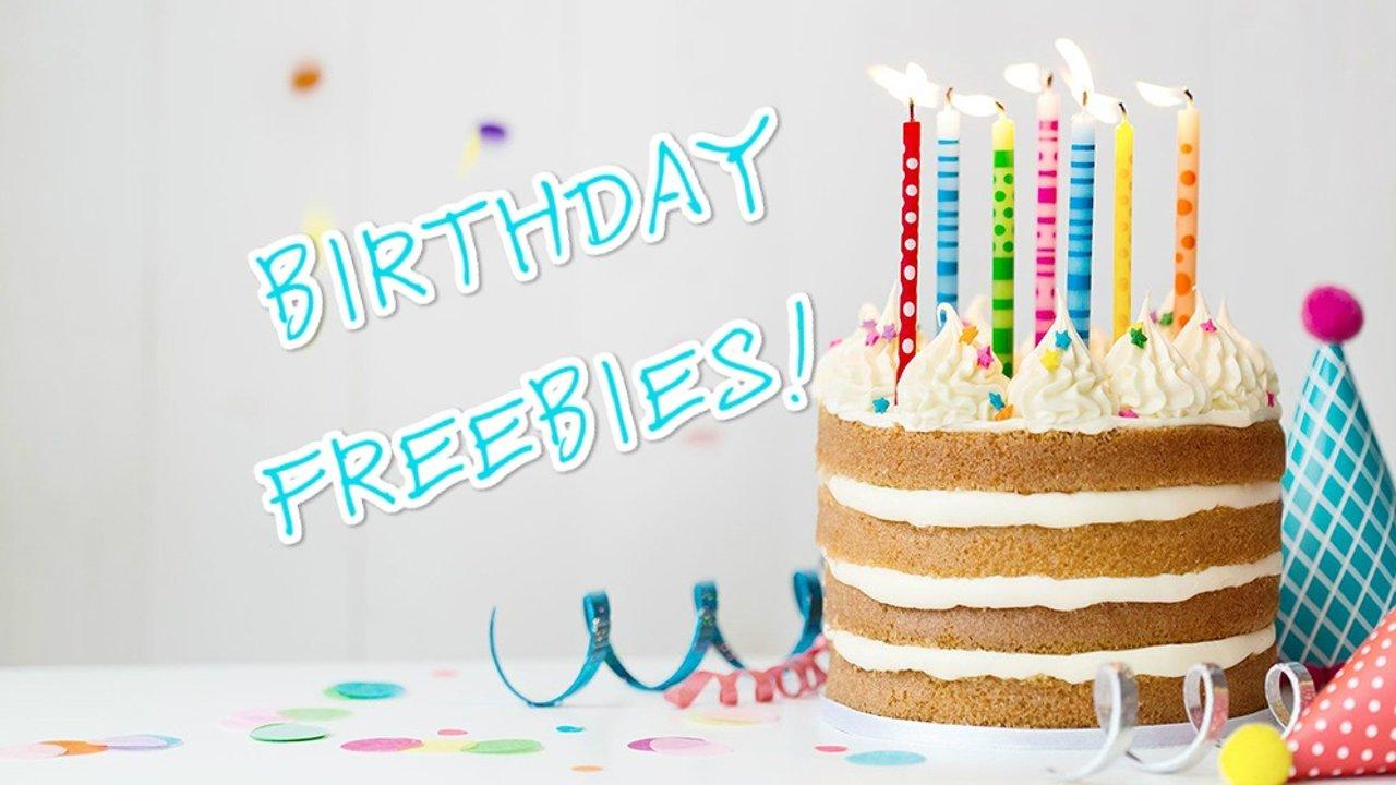通通免费!原来在美国过生日,有145份礼物等你拿!