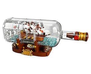 $119.99LEGO 2月1日发布新品 Ideas系列之瓶中船 21313
