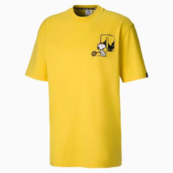 x PEANUTS 男士T恤