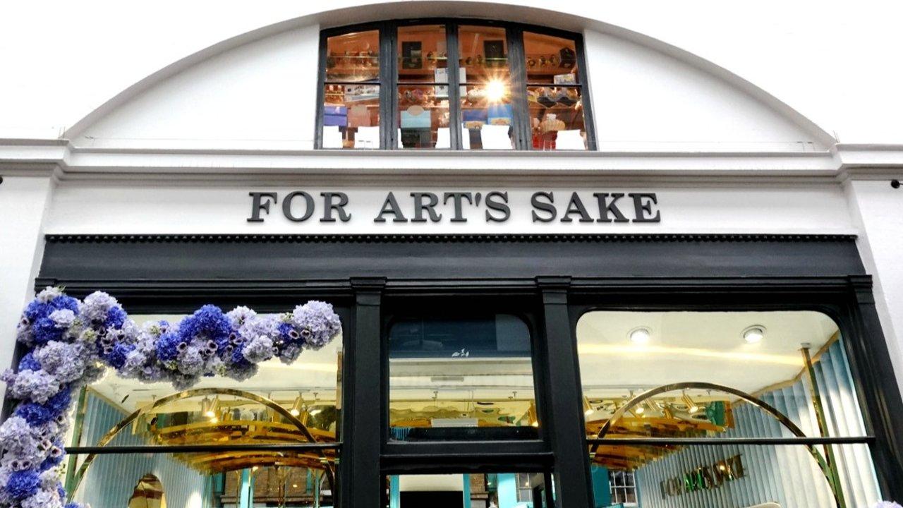 伦敦探店之 FOR ART'S SAKE:王嘉尔等众多爱豆墨镜同款大揭秘&复古新款真人实测