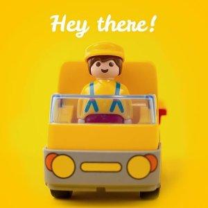 7.5折playmobil 德国儿童拼装玩具 专为幼童设计的1.2.3系列
