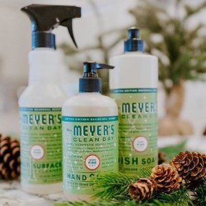 €5.98收洗洁精3瓶装x473mlMrs. Meyer's 梅耶太太 洗手液、清洁用品热卖 天然不伤手