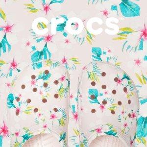 低至6折+额外5折Crocs童鞋特卖, 这才是小公主夏天洞洞鞋该有的样子