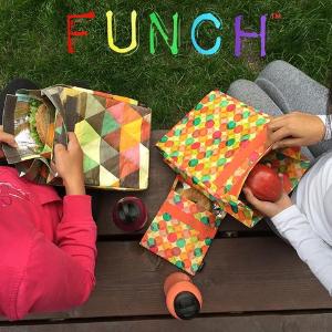 7折起Funch 环保、保温午餐袋、三明治袋 复古调调 拍皂片也好看