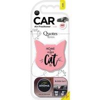 Aroma Car 猫咪造型 泡泡糖味车香