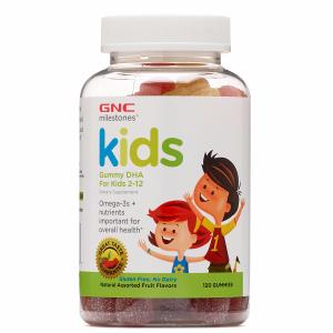 GNC 儿童DHA软糖 120粒 适合2-12岁儿童