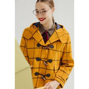 Paddington Wool Duffle Coat (Mustard)\[Limited Edition]