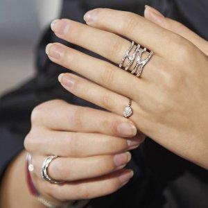 限时额外8折Monica Vinader 精选钻石手链、戒指、项链首饰热卖