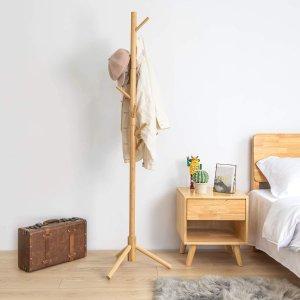 BedStory 竹制立式衣帽架,2色可选