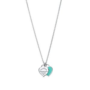 Tiffany & Co.Tiffany 蓝爱心项链