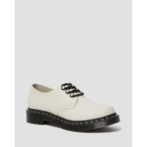 DR MARTENS 1461 WOMEN'S HARDWARE LEATHER OXFORD SHOES