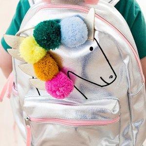 5折+新用户额外8.5折Hanna Andersson 高颜值高质量儿童书包和午餐包促销