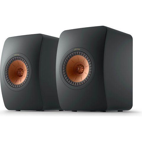 New Release:KEF LS50 Meta Bookshelf speakers (Carbon Black)