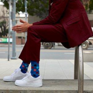8折+包邮!独家:Happy Socks 趣味萌袜热卖 吸睛高颜值