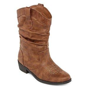 f47972c6f9bb ArizonaBUY 1 GET 2 FOR FREEArizona Little Kid Big Kid Girls Paisley Slouch  Boots Stacked