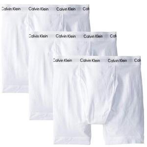 $23.99(原价$42.50)Calvin Klein 精选男士内裤三件套热卖