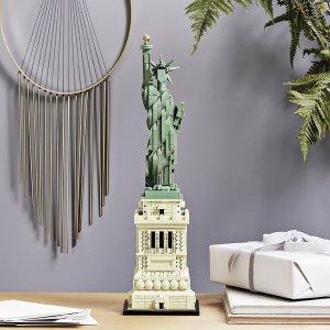 全新上市售价£89.99LEGO 建筑系列 自由女神像 - 21042