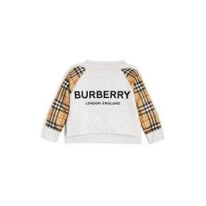 Burberry额外7.5折儿童卫衣