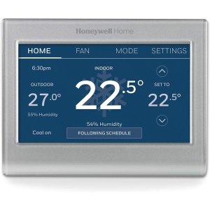 $150.12(原价$199.99)史低价:Honeywell Wi-Fi 彩色触摸屏 家用智能温控器