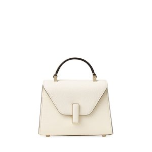 ValextraSaffiano Iside Micro Top Handle Bag