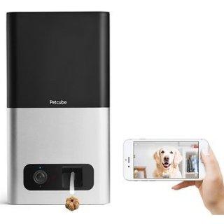$89 (原价$249)史低价:Petcube 宠物互动摄像头智能零食投喂器 2色可选