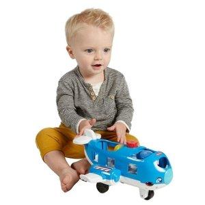 $9.84(原价$14.99)Fisher-Price 儿童小飞机玩具,带声音和闪灯
