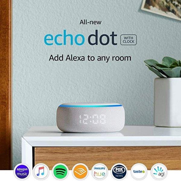 Echo Dot (3代) +Clock