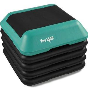 Amazon官网 Yes4All 可调节式健身踏板