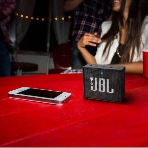 $24.5(原价$49)JBL GO 音乐金砖 迷你无线蓝牙音响
