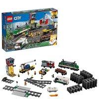 Lego City系列 带遥控货运火车 60198