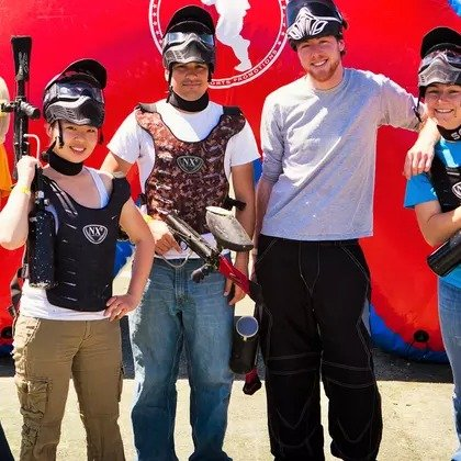 Paintball Tickets 单人票