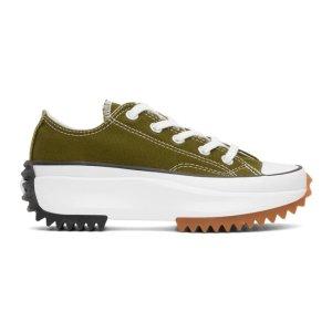 ConverseGreen Run Star Hike Sneakers